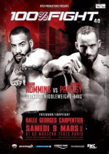 100% Fight 40 @ HALLE GEORGES CARPENTIER