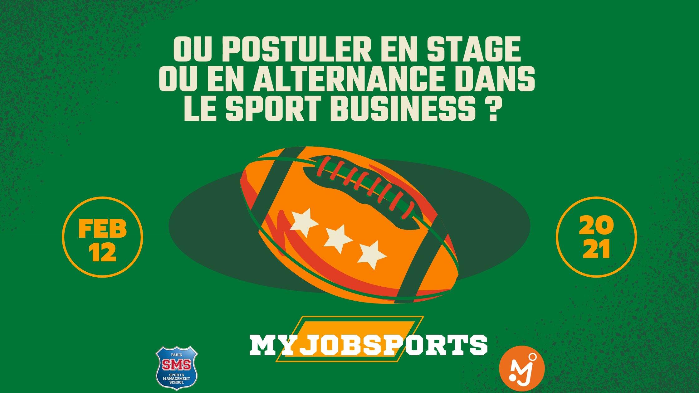 Où postuler en stage ou en alternance dans le sport business ?