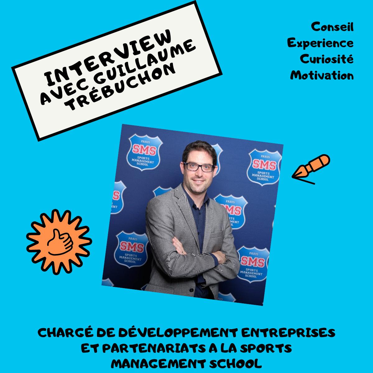 Read more about the article Interview avec Guillaume Trébuchon Chargé de développement Entreprises & Partenariats